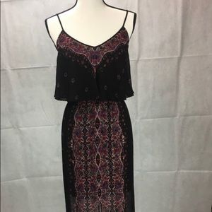 Express Maxi, Sheer, Flower Dress (XSMALL)